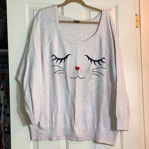 Torrid Kitty sweater